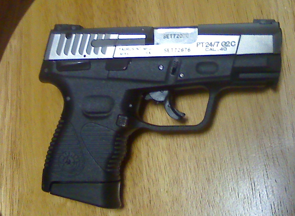 Factory Taurus PT24//7C G2 .45 10rd 45 COMPACT read description USED Mag