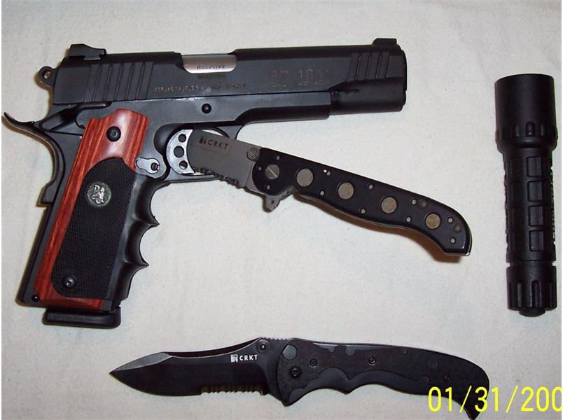 Pachmayr Grips installed   photos included