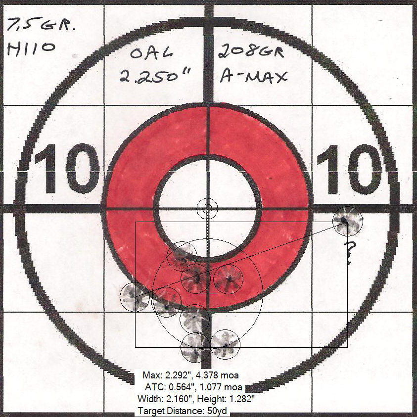 300BLK Subsonic with Hornady Match 225gr  BTHP