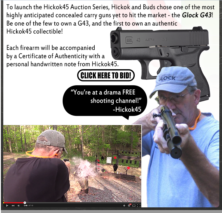 Hickok 45 and Bud's