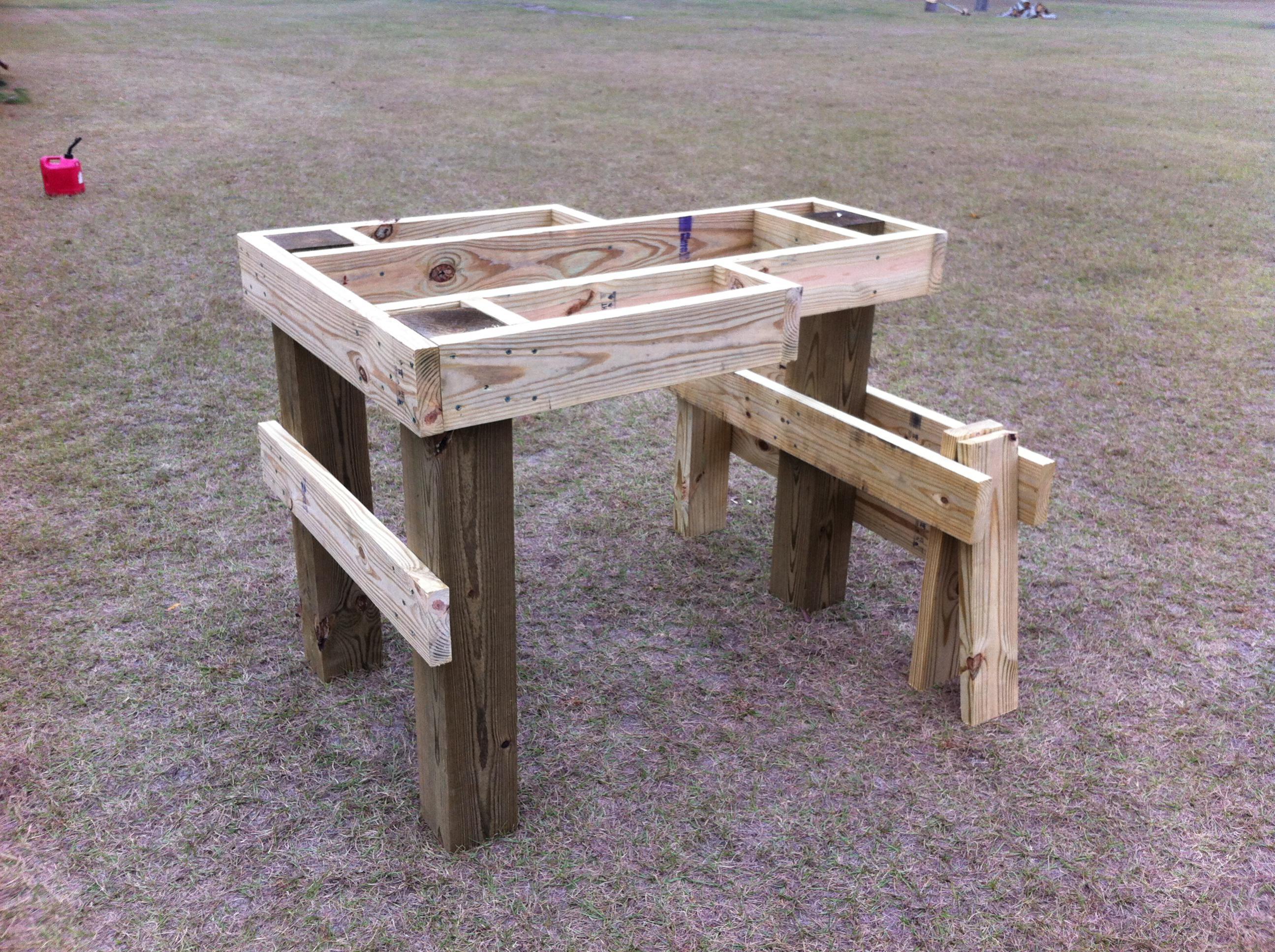 shooting bench plans nra