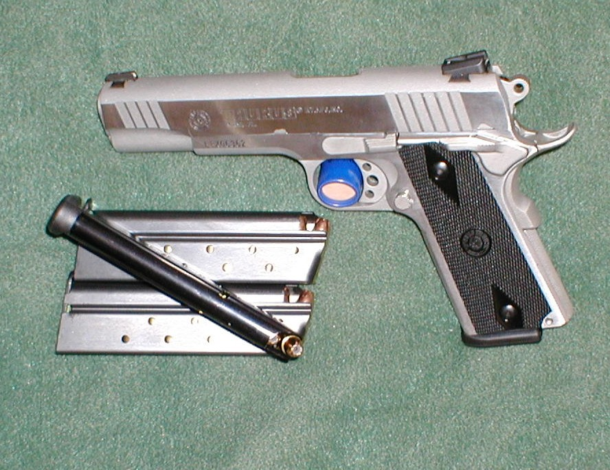 Ordered through Bud's - Rock Island Armory Tactical 1911
