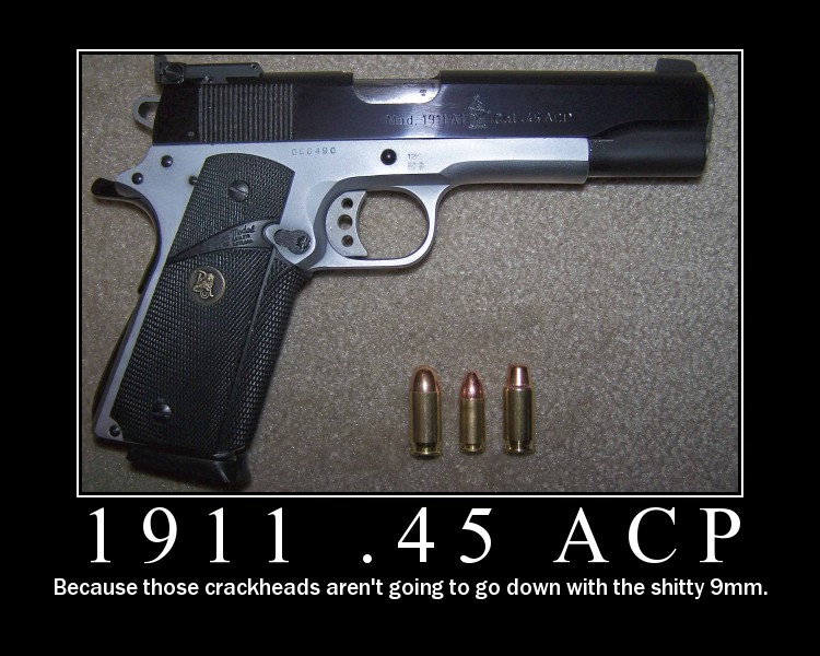 Unfair comparison of 9mm and  45 ACP - Page 16