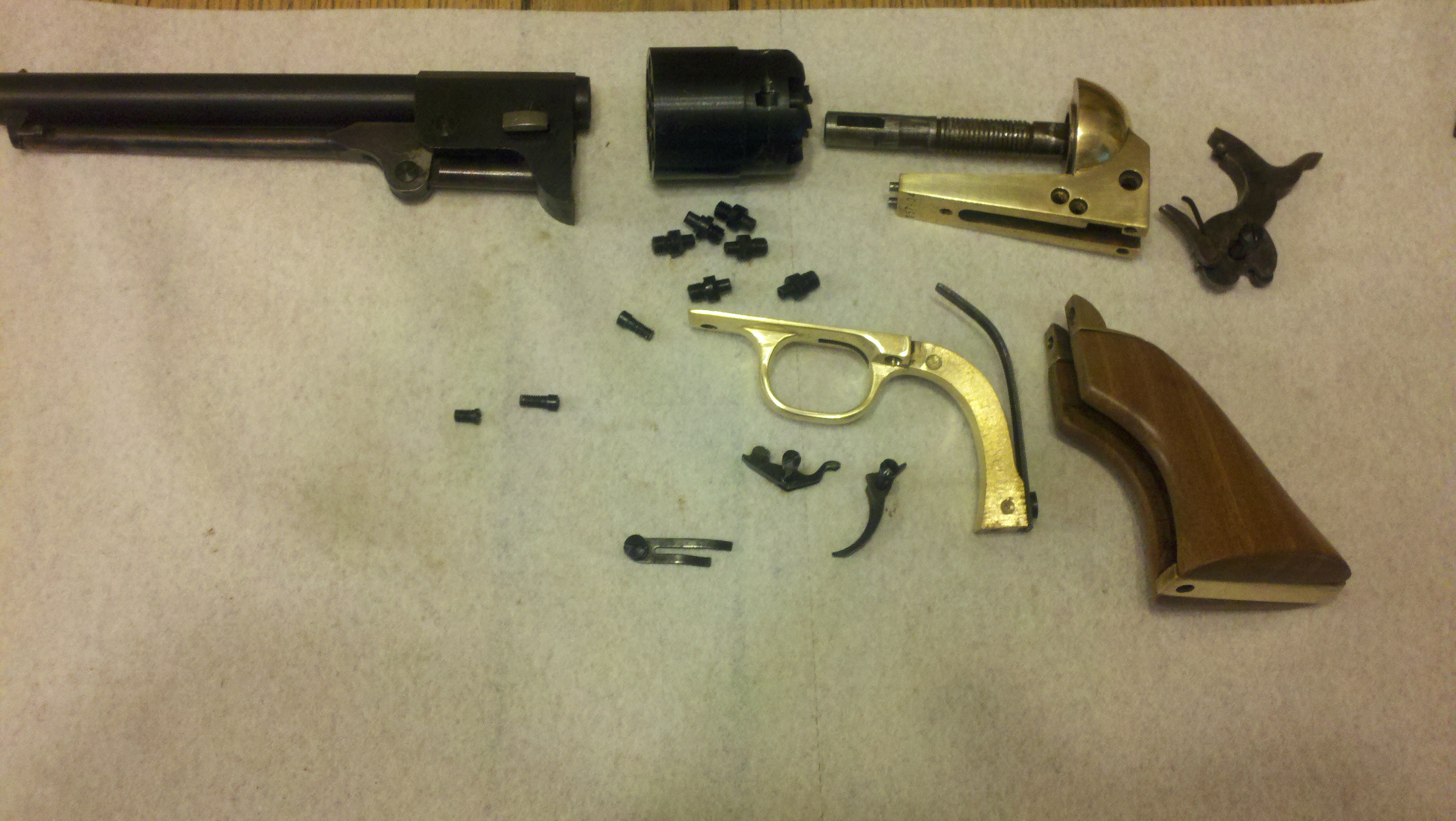 i finished the 1851 colt navy reproduction