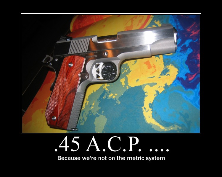 Unfair comparison of 9mm and  45 ACP - Page 15