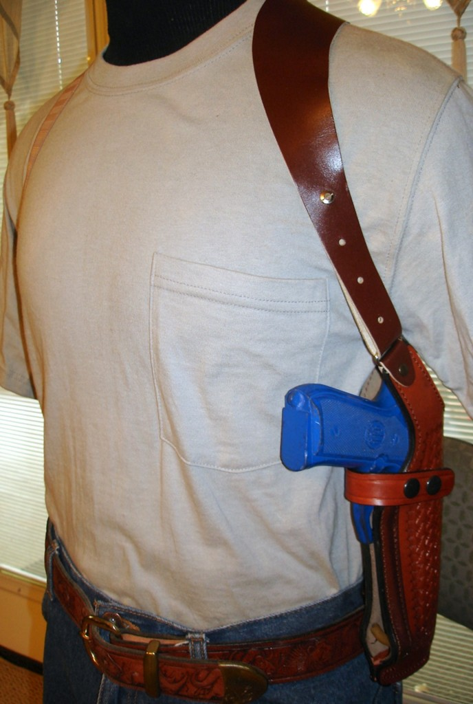 Pt92 Shoulder Holster It S Not A Joke Really
