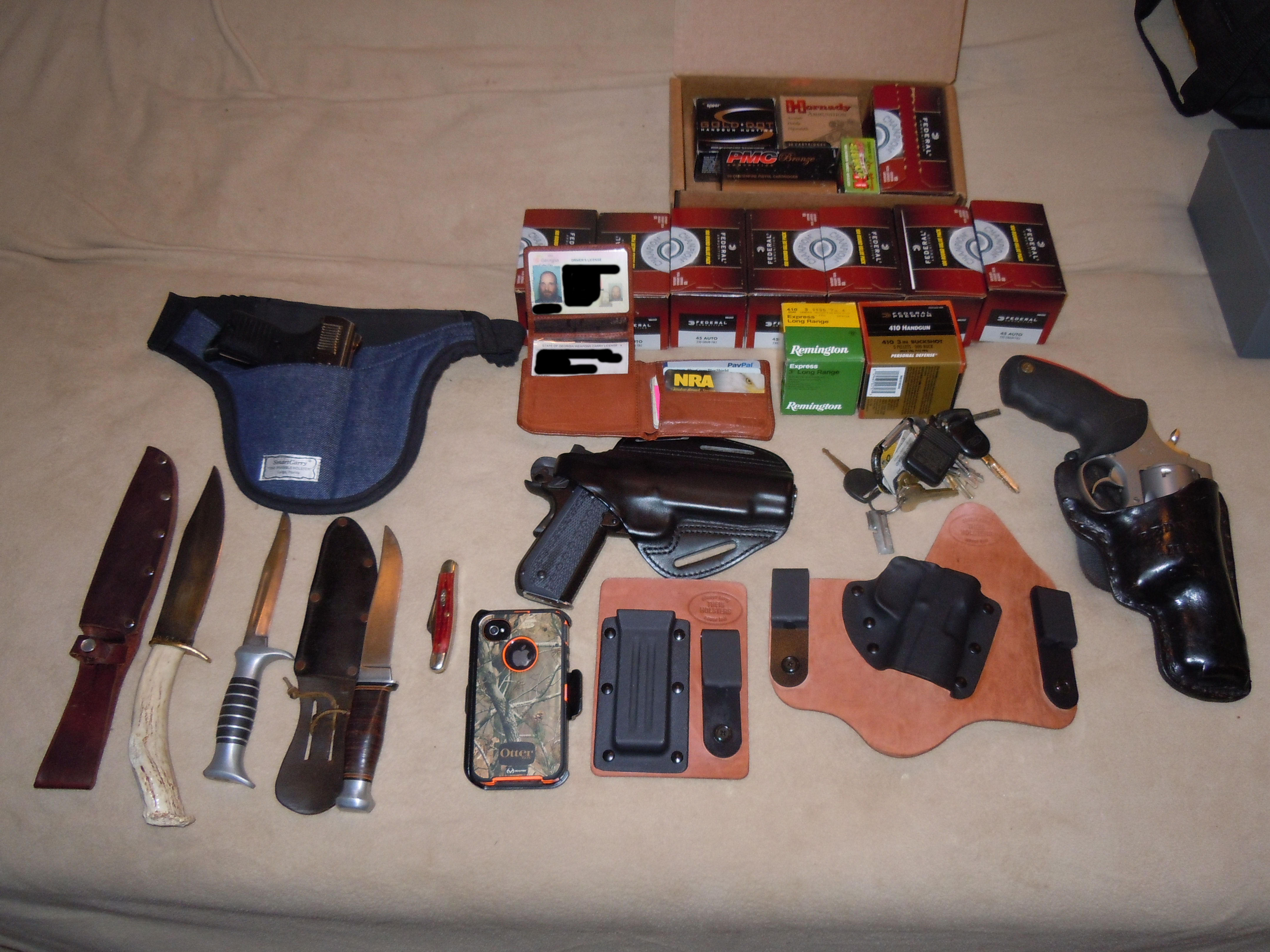 What Is Your Edc Every Day Carry What Is On You Right Now