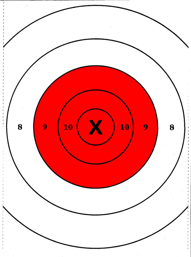 This is an image of Ridiculous Handgun Targets Printable