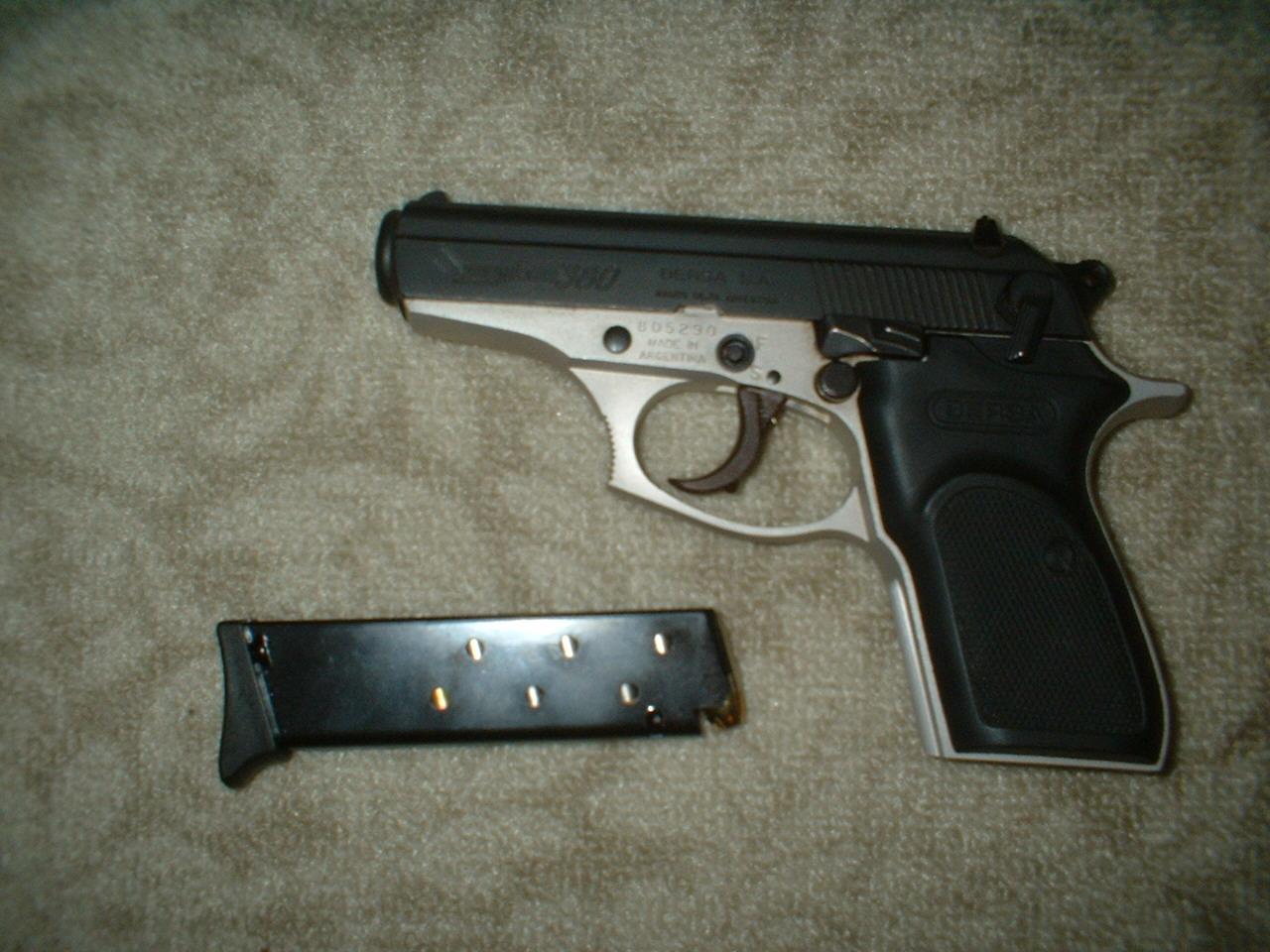 Bersa 45 acp Ultra compact