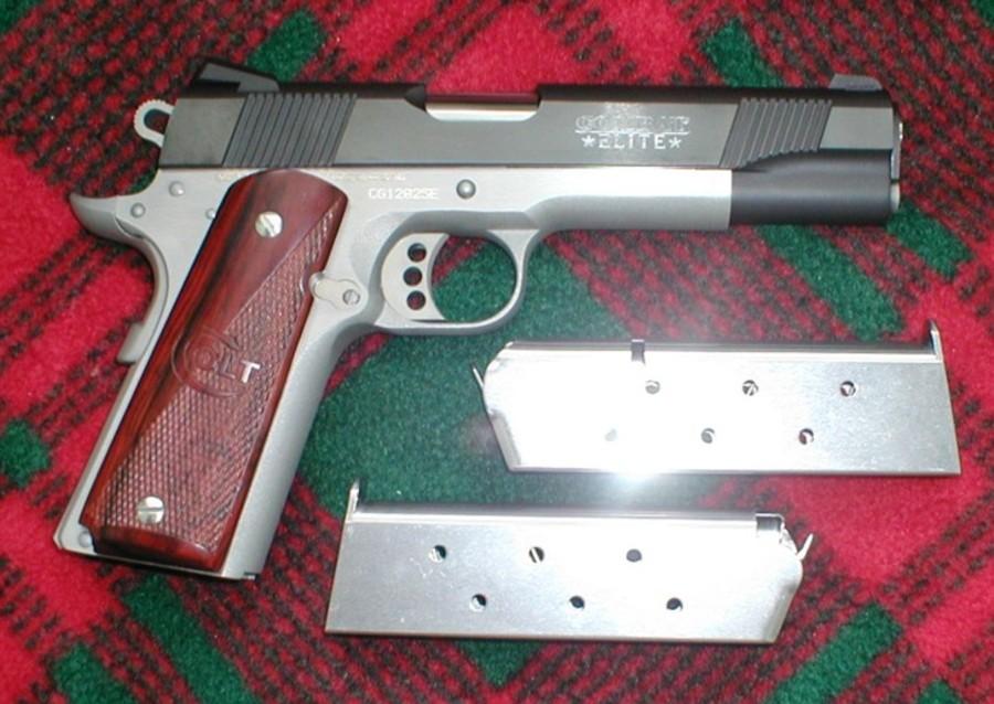 Taurus PT1911 vs Colt Series 70 (new)