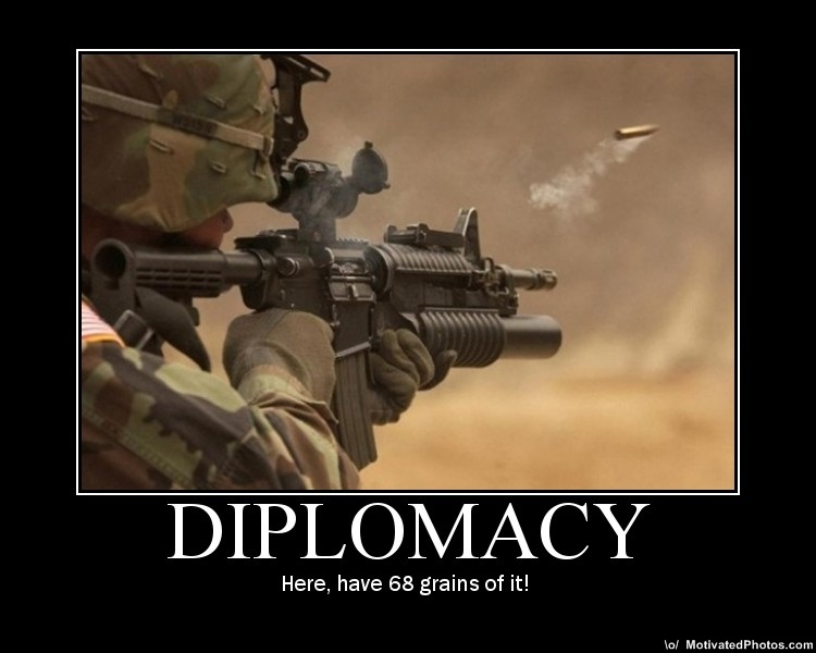 Thread gun demotivational posters