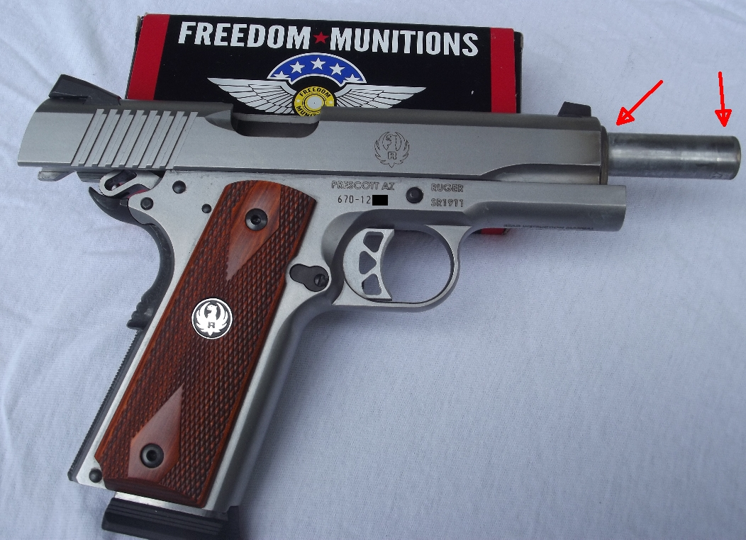 RANGE REPORT:  FREEDOM MUNITIONS .45 RELOADS WITH SR1911 and PT145 MIL PRO-dirty2.jpg