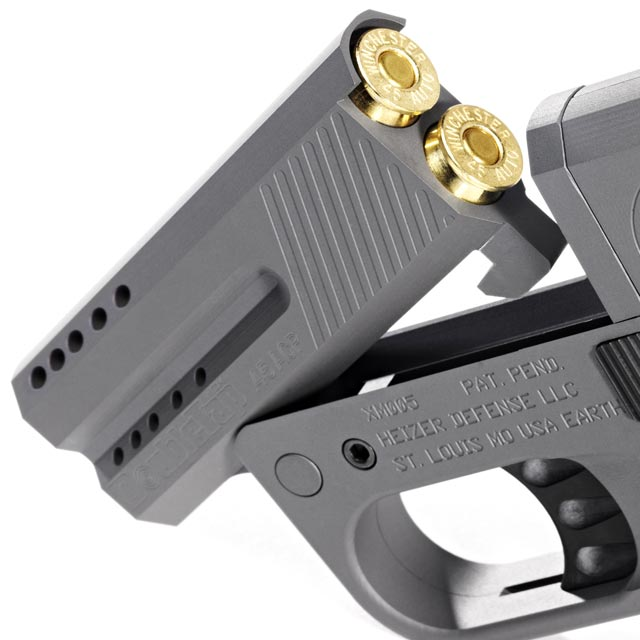 Here's the World's Smallest .45 Concealed Carry Pistol