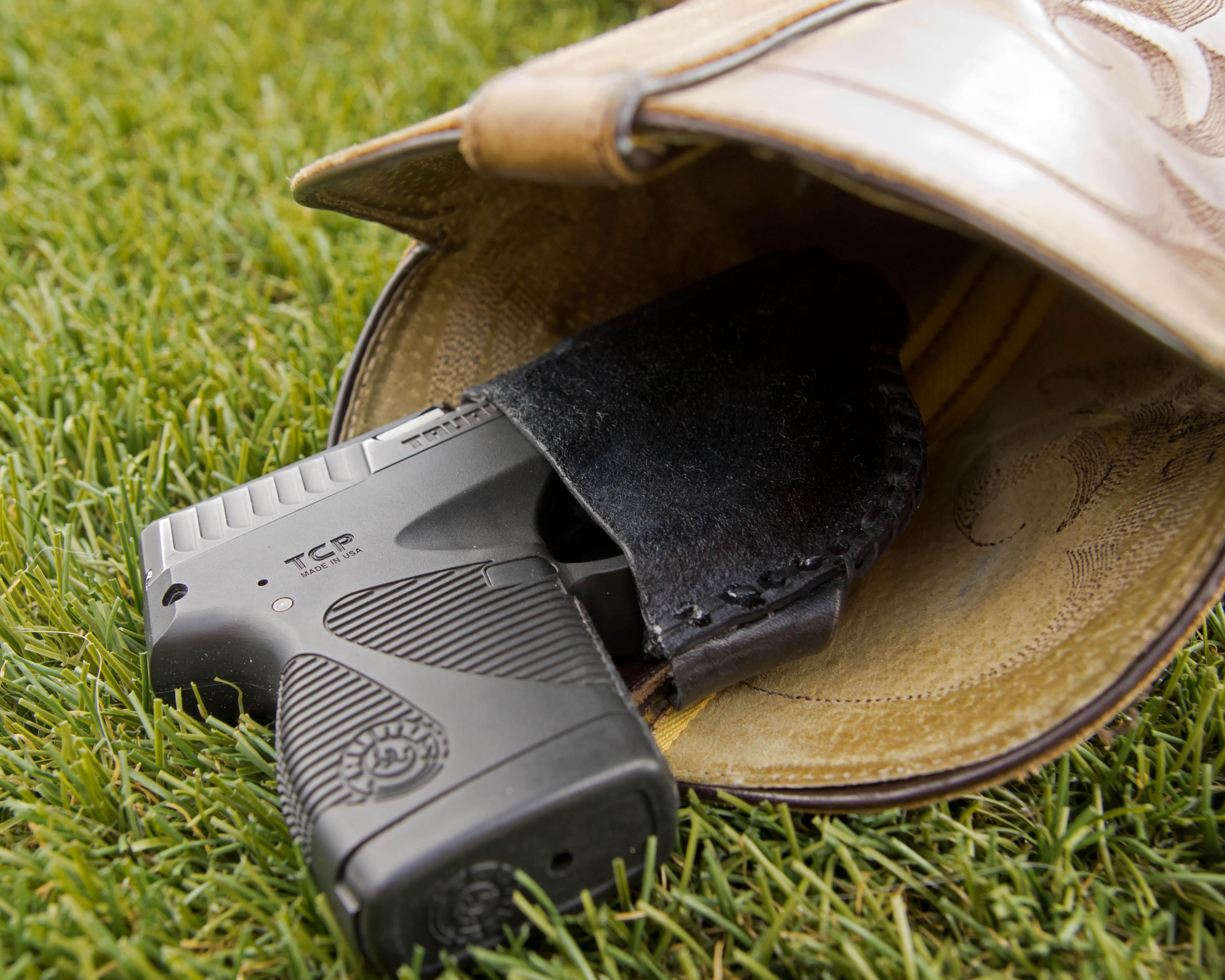 Cowboy boot deep concealment ho!ster