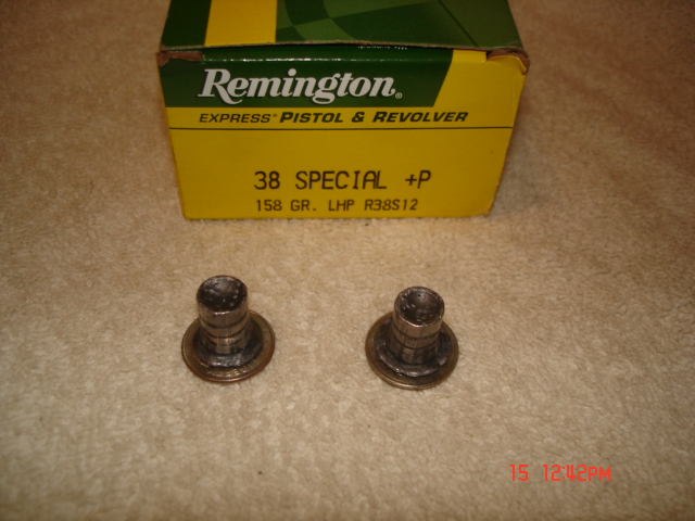 Remington 158gr Lswc Hp P Test Quot Fbi Load Quot