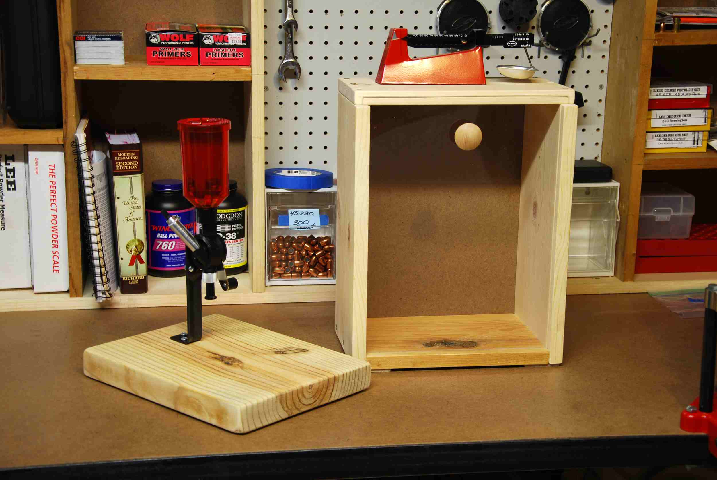 plans for building a reloading bench | Popular Woodworking Plans