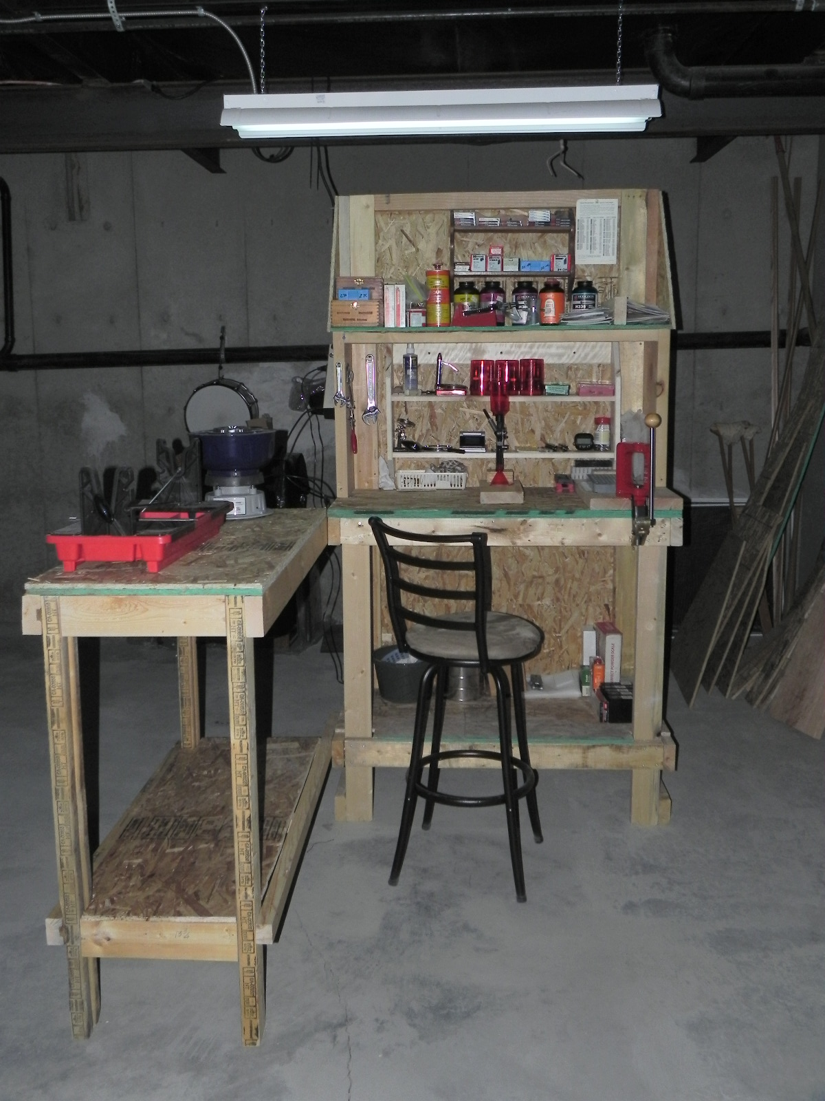 Show Us Your Diy Reloading Bench