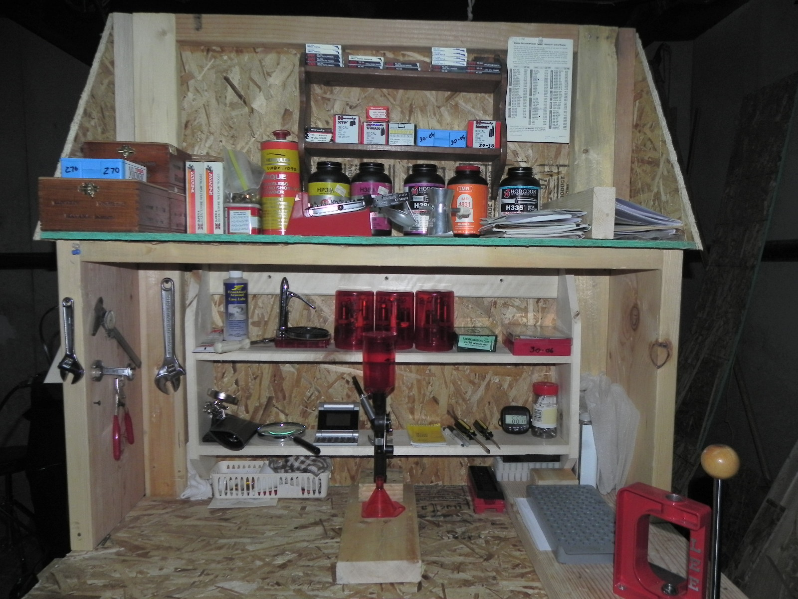 Show us your DIY reloading bench.
