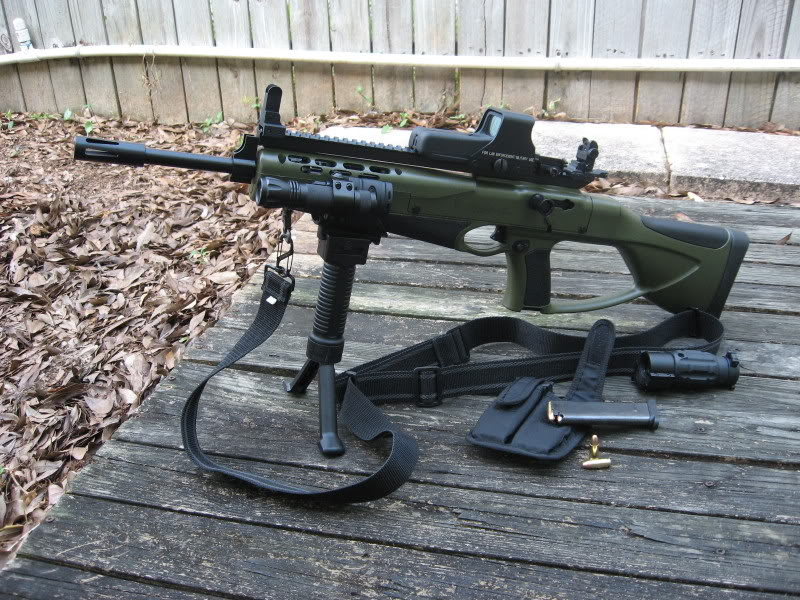Would a hi point 995 carbine be a decent deer rifle