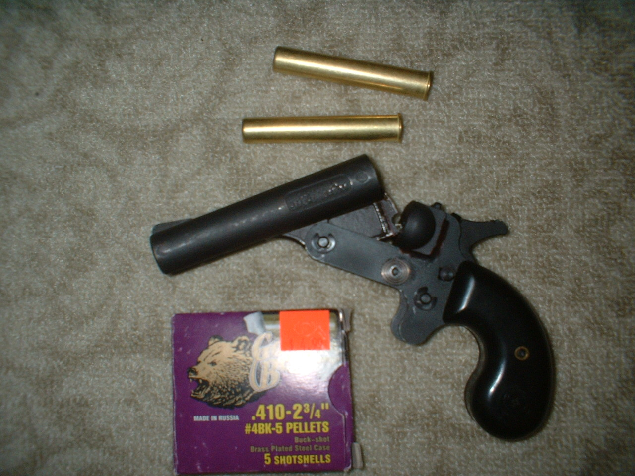 Any info about the Leinad derringer?