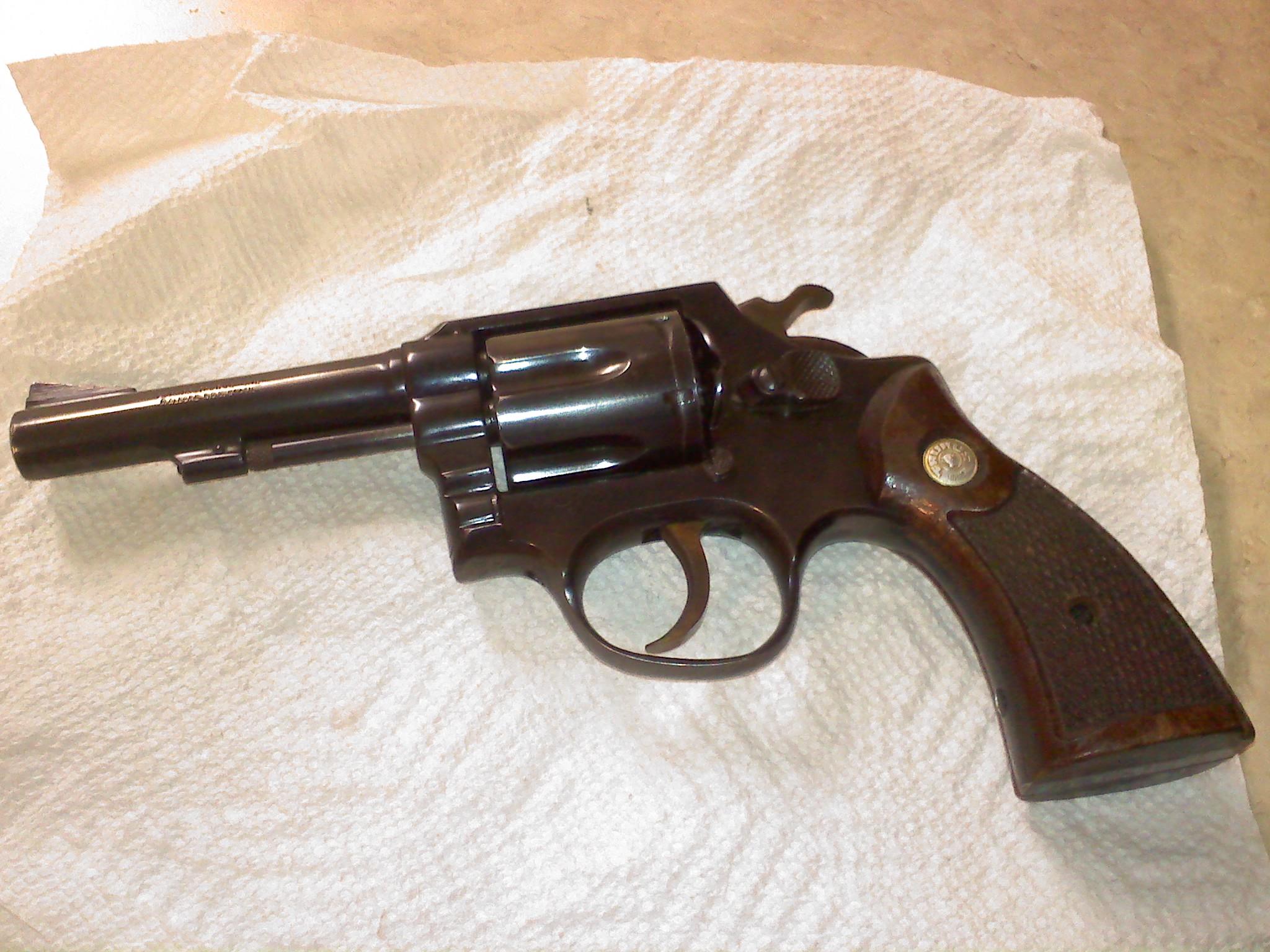 Identifying An Old Revolver