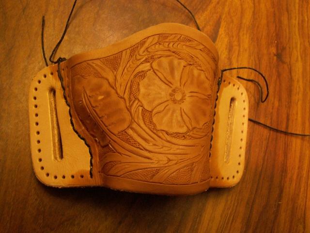 image regarding Printable Leather Holster Patterns named Self developed pocket holster - Web site 10