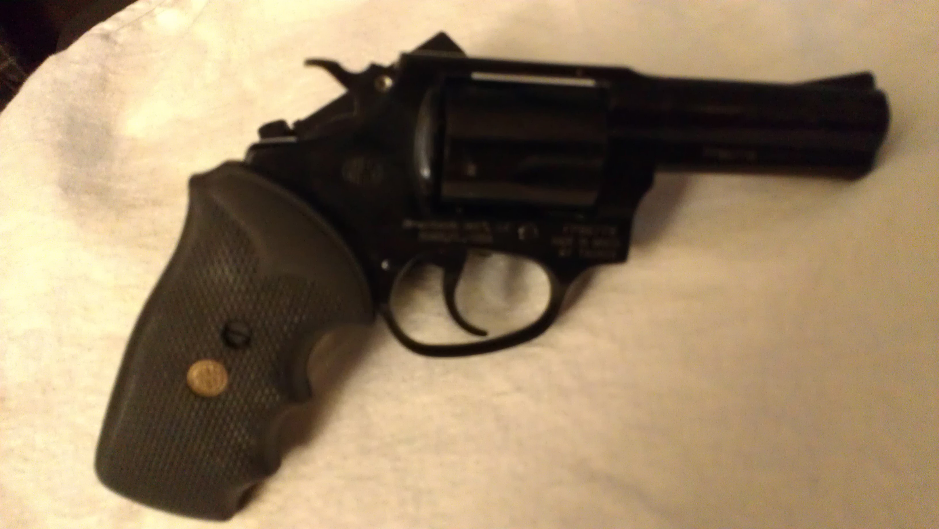 Picked up a Rossi R35103  38 SPL + P Revolver