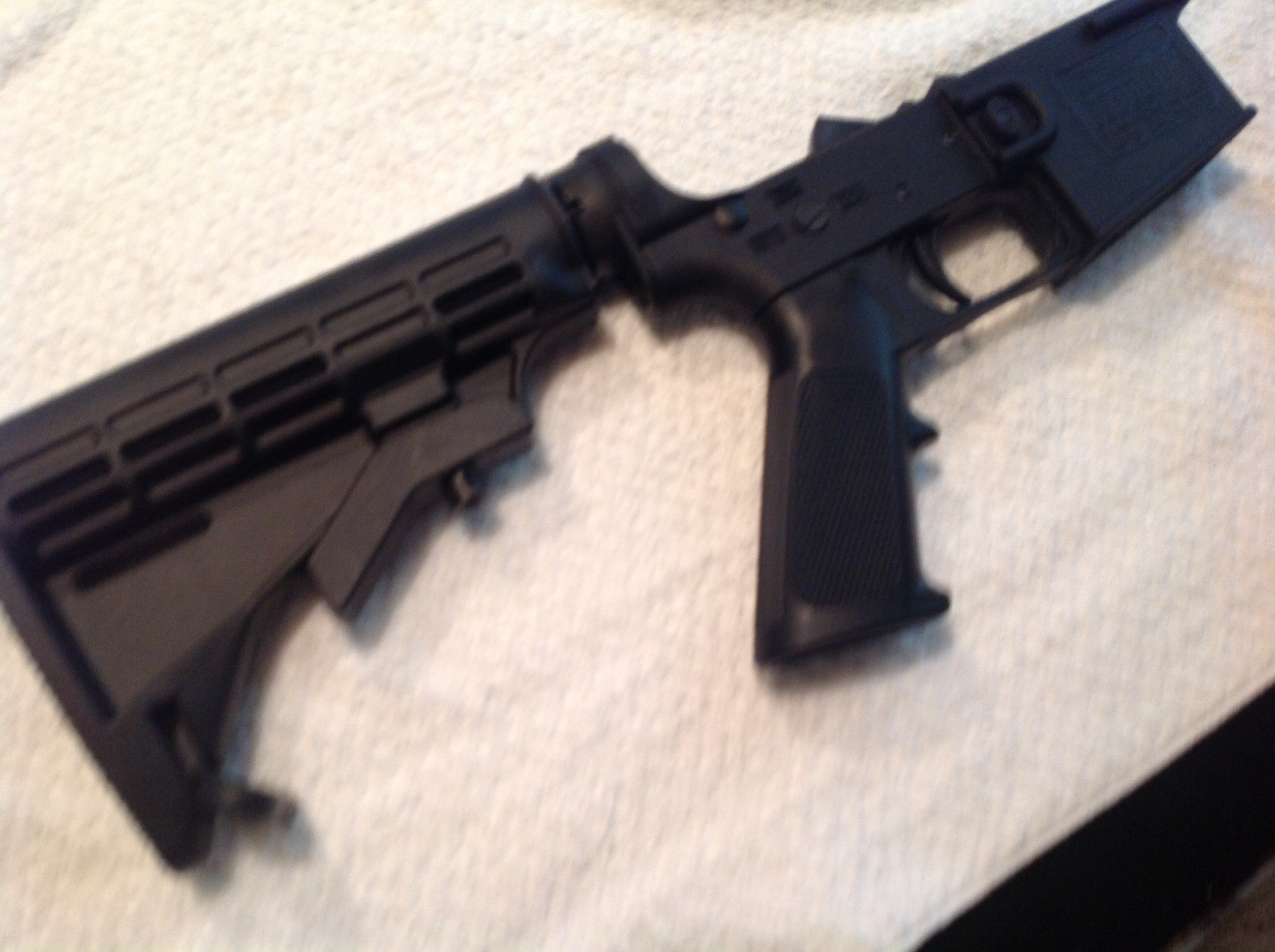 New Frontier Armory polymer lower