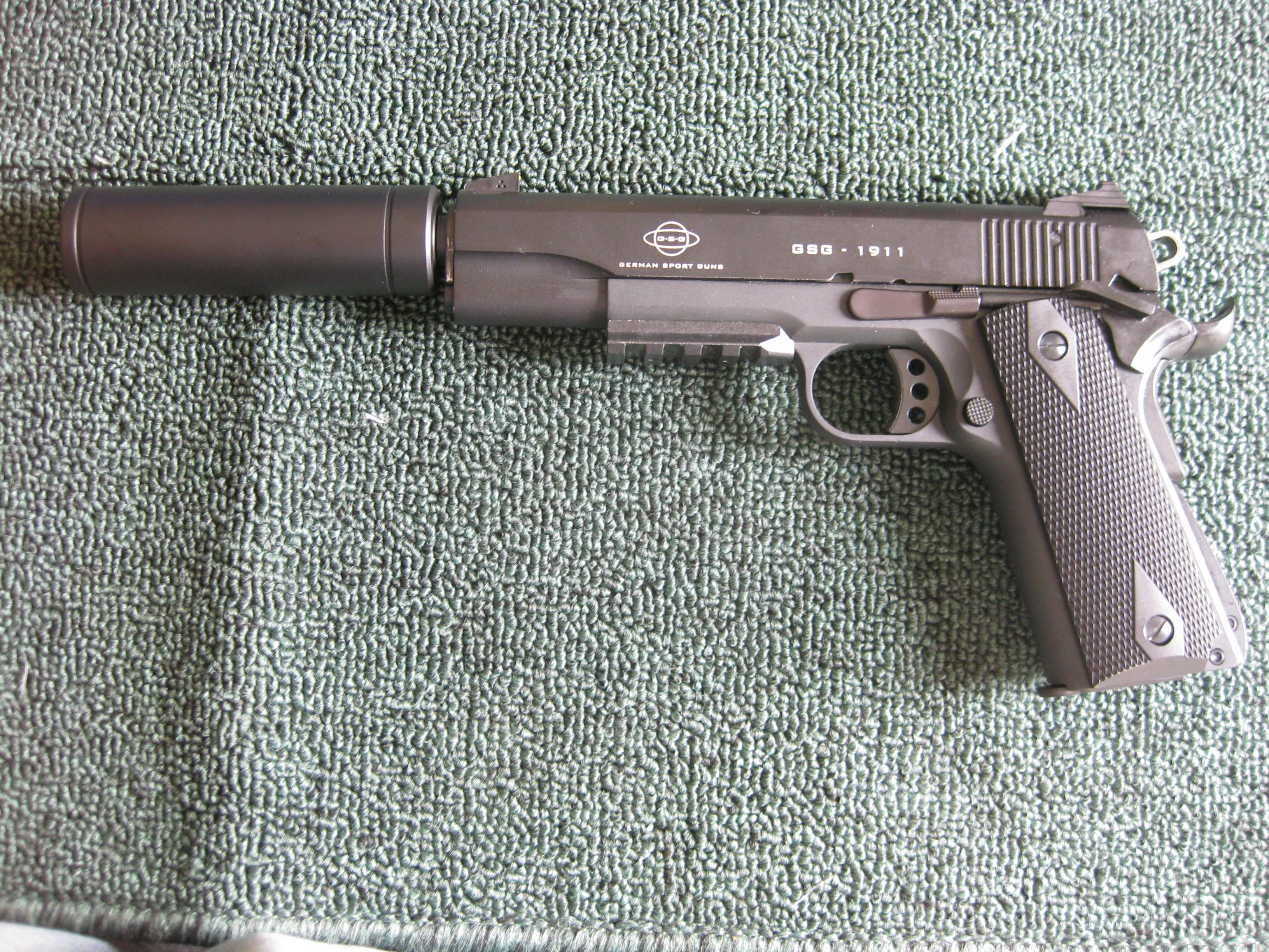 Nothing bad to say about this GSG 1911  22LR