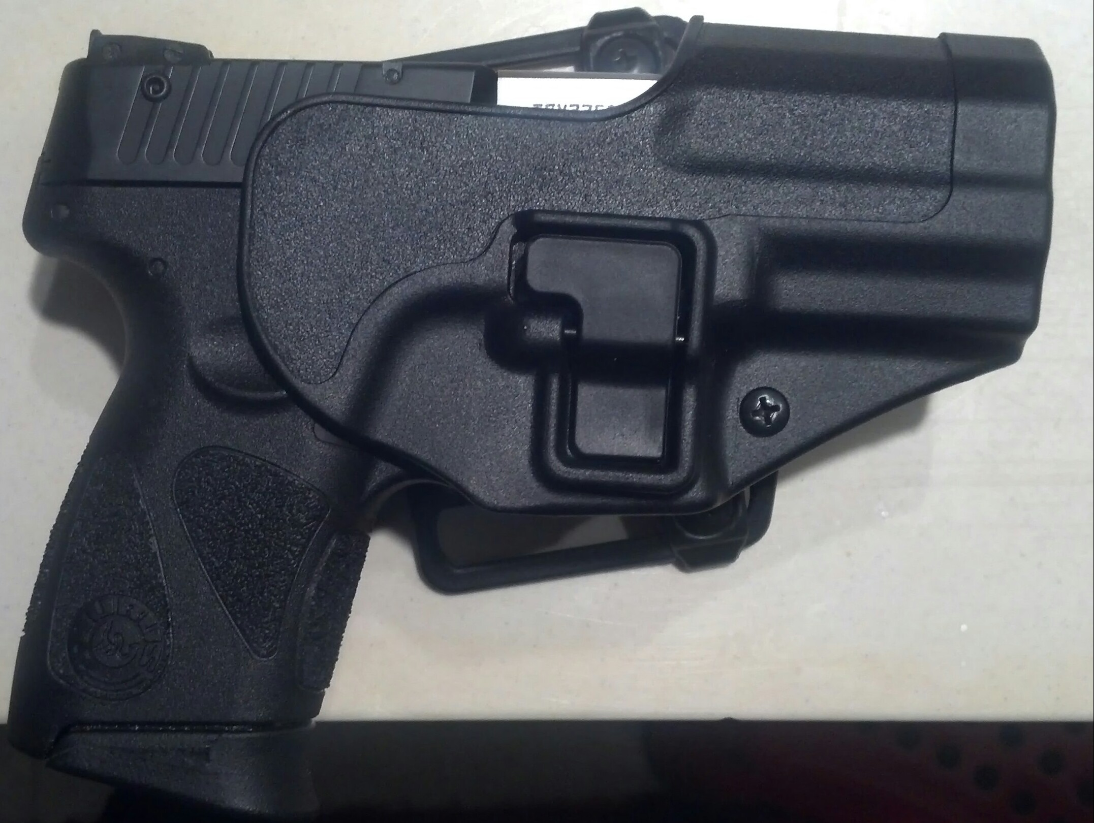 pt111  milli g2 ccw holster and sights