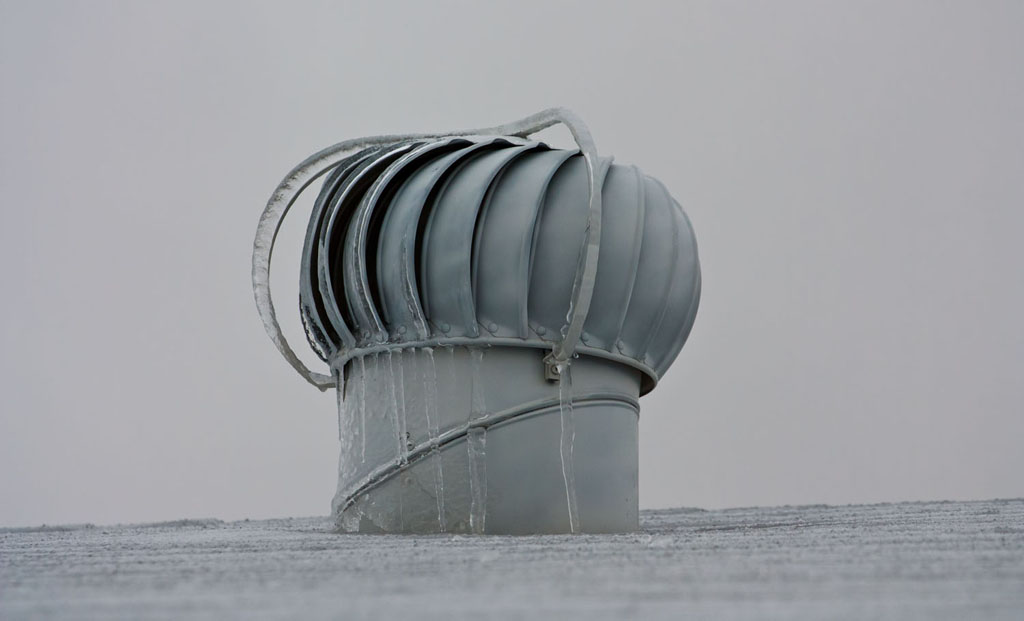 got ice problems with home turbine on roof - Roof Turbine