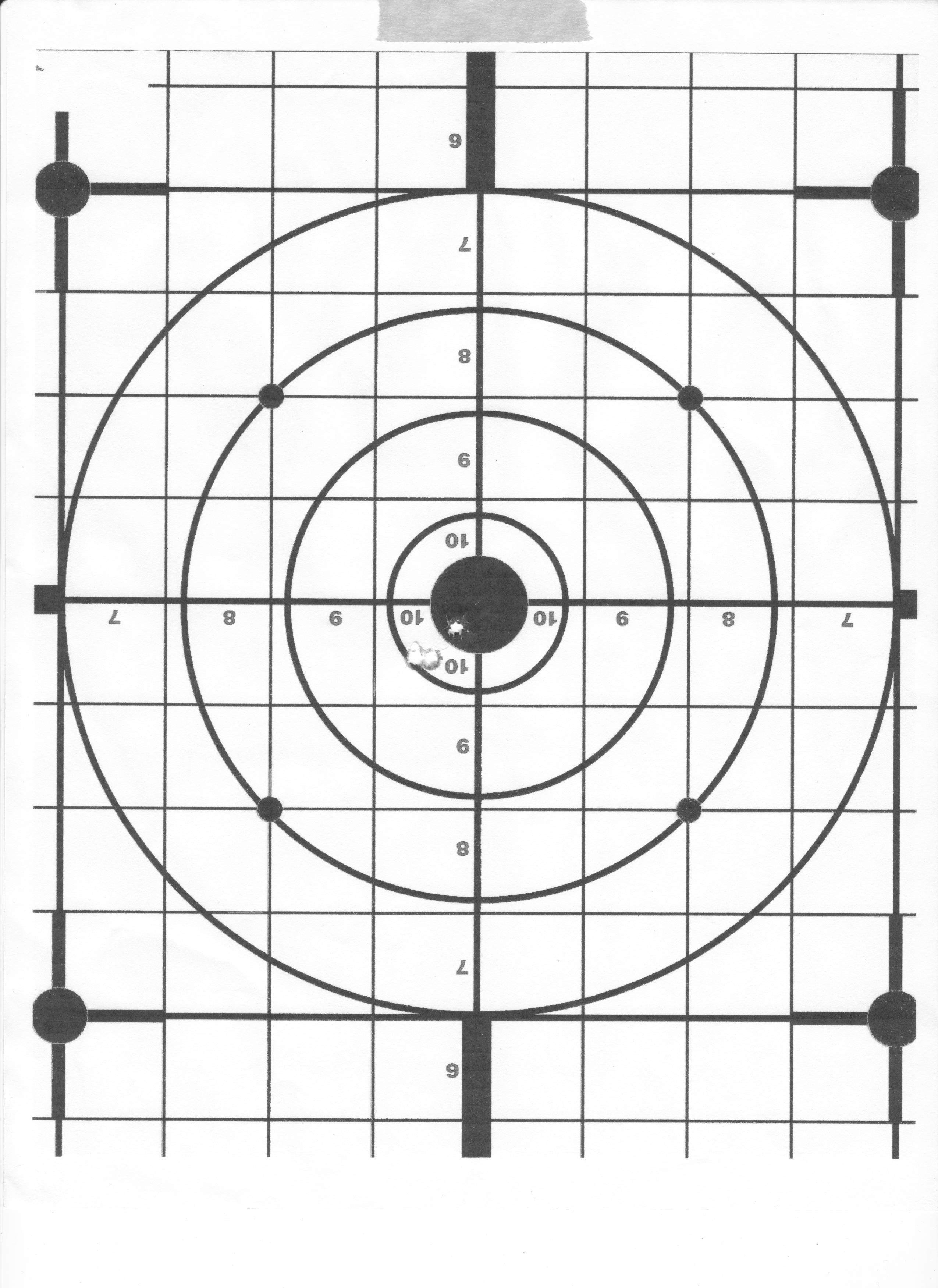 It is a photo of Dynamic 22 Targets Printable