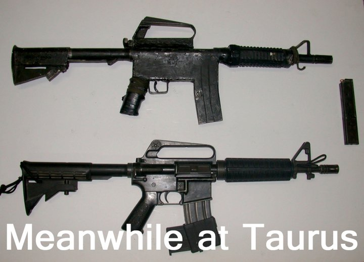 This Gun Is Used By Police In Brazil Manufactured By Taurus It