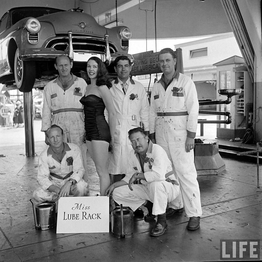 Name:  Miss Lube Rack 1955.jpg
