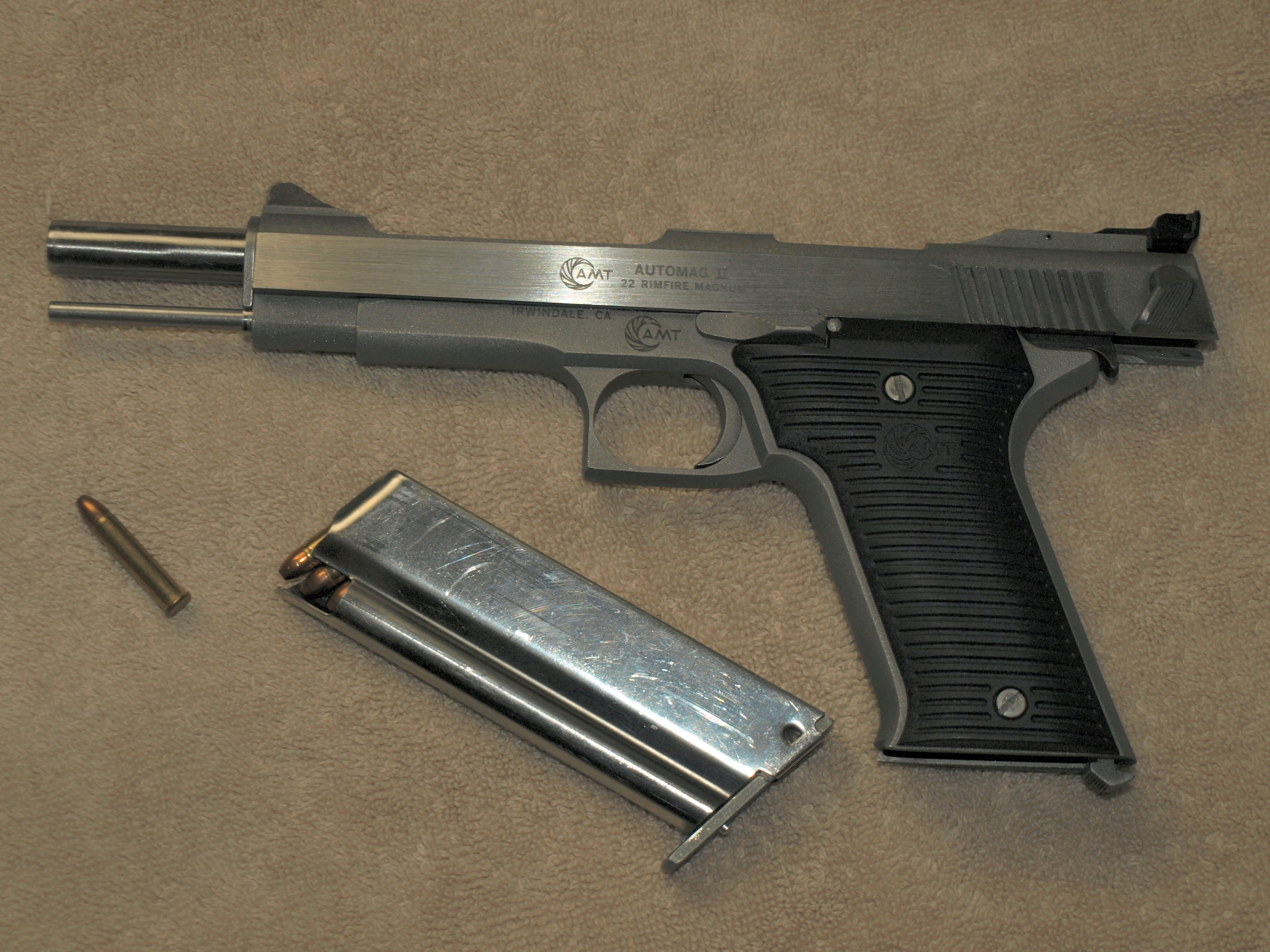 AMT Automag III .30 Carbine SN:A06093