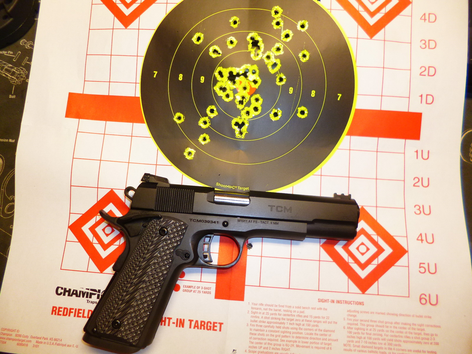 Another new 1911 - Review of my Rock Island Armory TCM Ultra