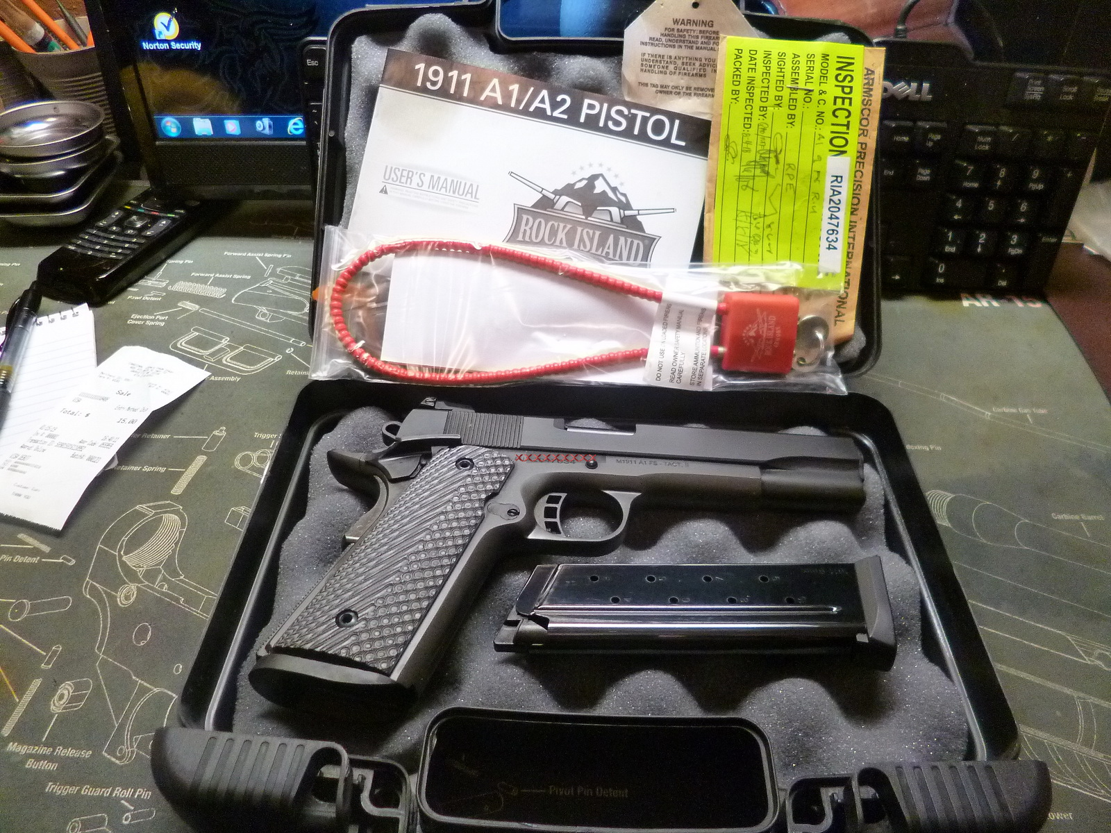 Rock Island Armory 9mm M1911 A1 FS Tactical 2 review