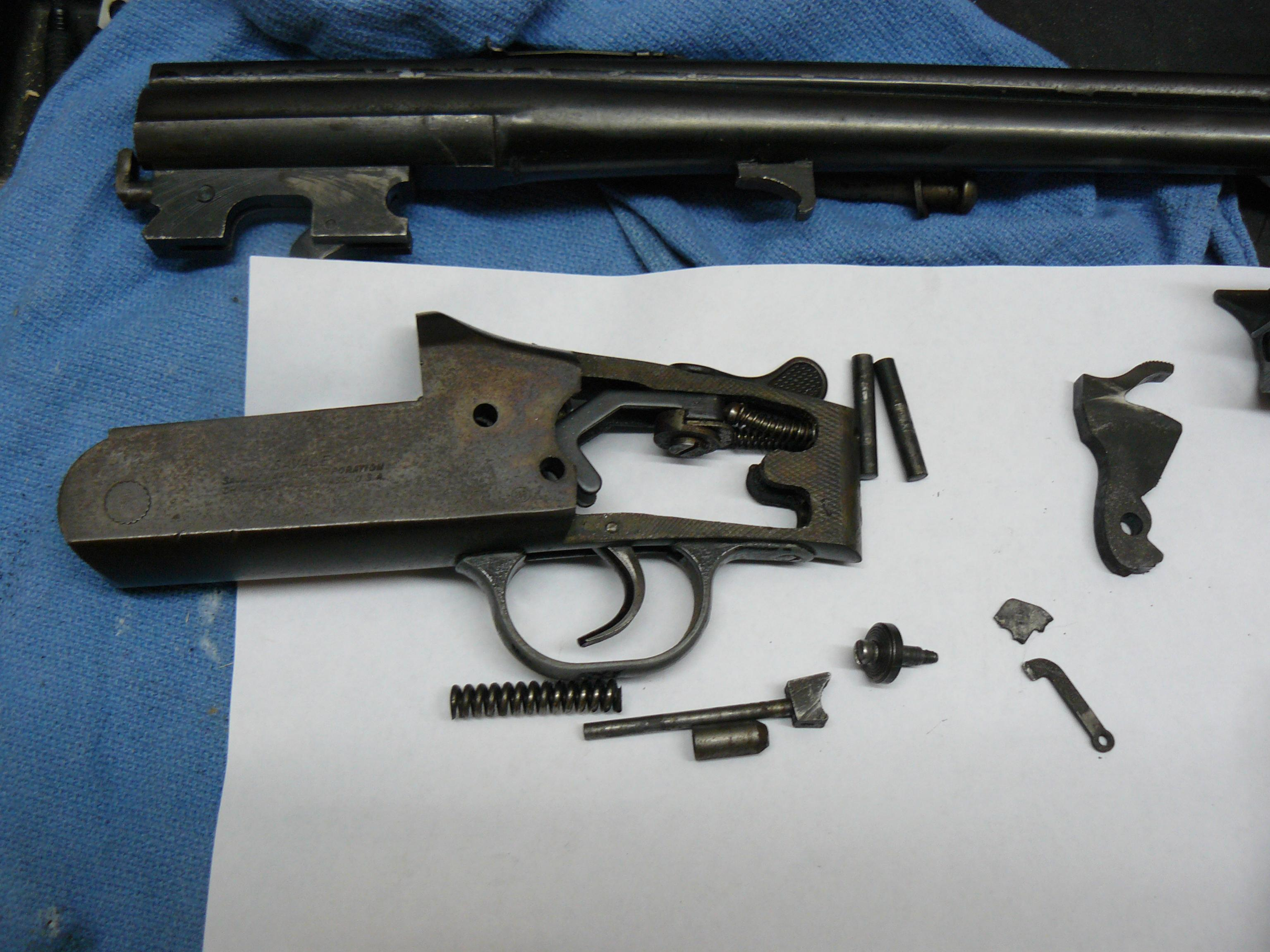 Any Savage Model 24 Mechanics out there?