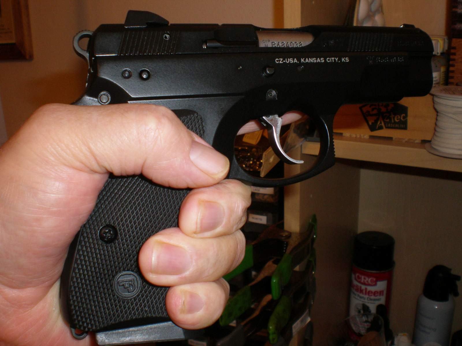 Differences between CZ75 compact, P-01 and SP-01?