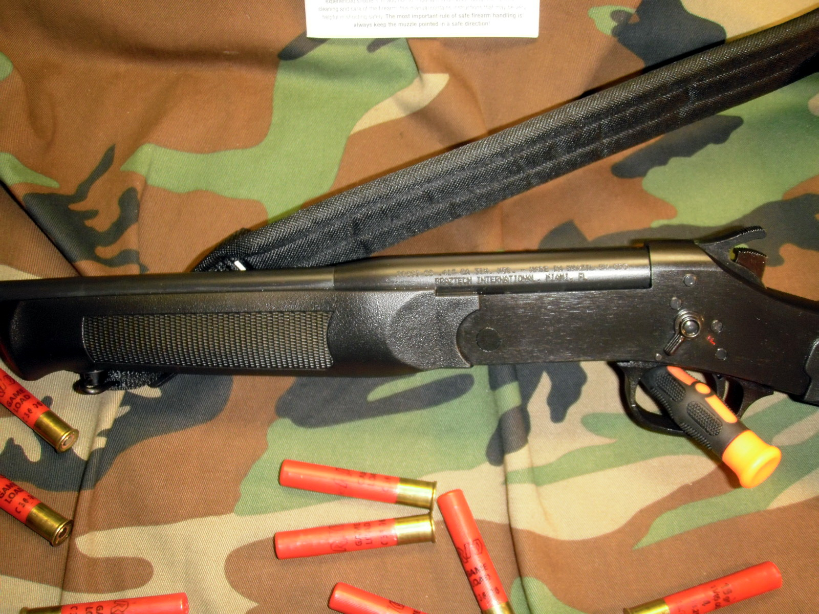 Review of Rossi youth model SS 410 shotgun