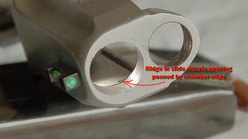PT111 G2 Age-Related Peening at Slide Opening