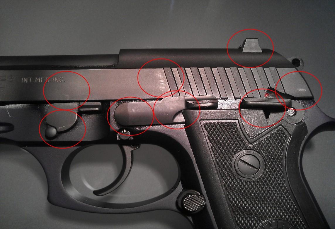 Taurus pt92 repair issue?
