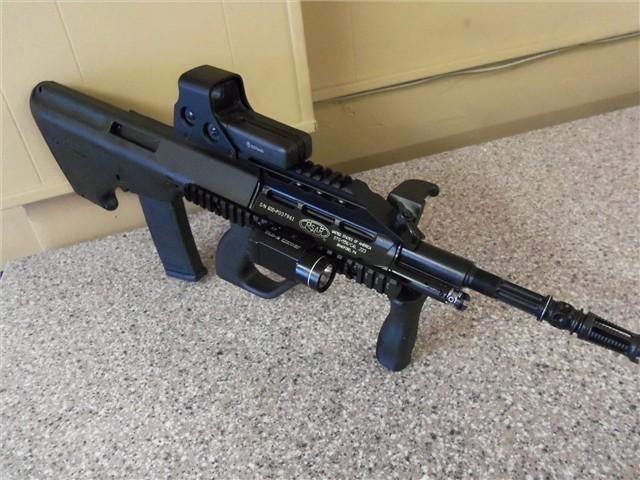 Bullpup Conversion Kit We Sru Eu17 6mm Airsoft Gbb Pistol With