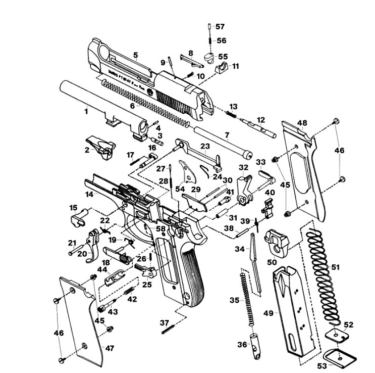 I Did It Too  I Lost My Firing Pin Block Spring For Pt 92