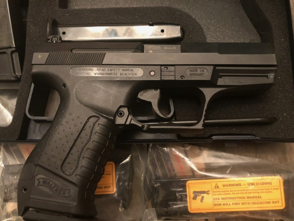 New to me, a 2001 Walther P99 QA