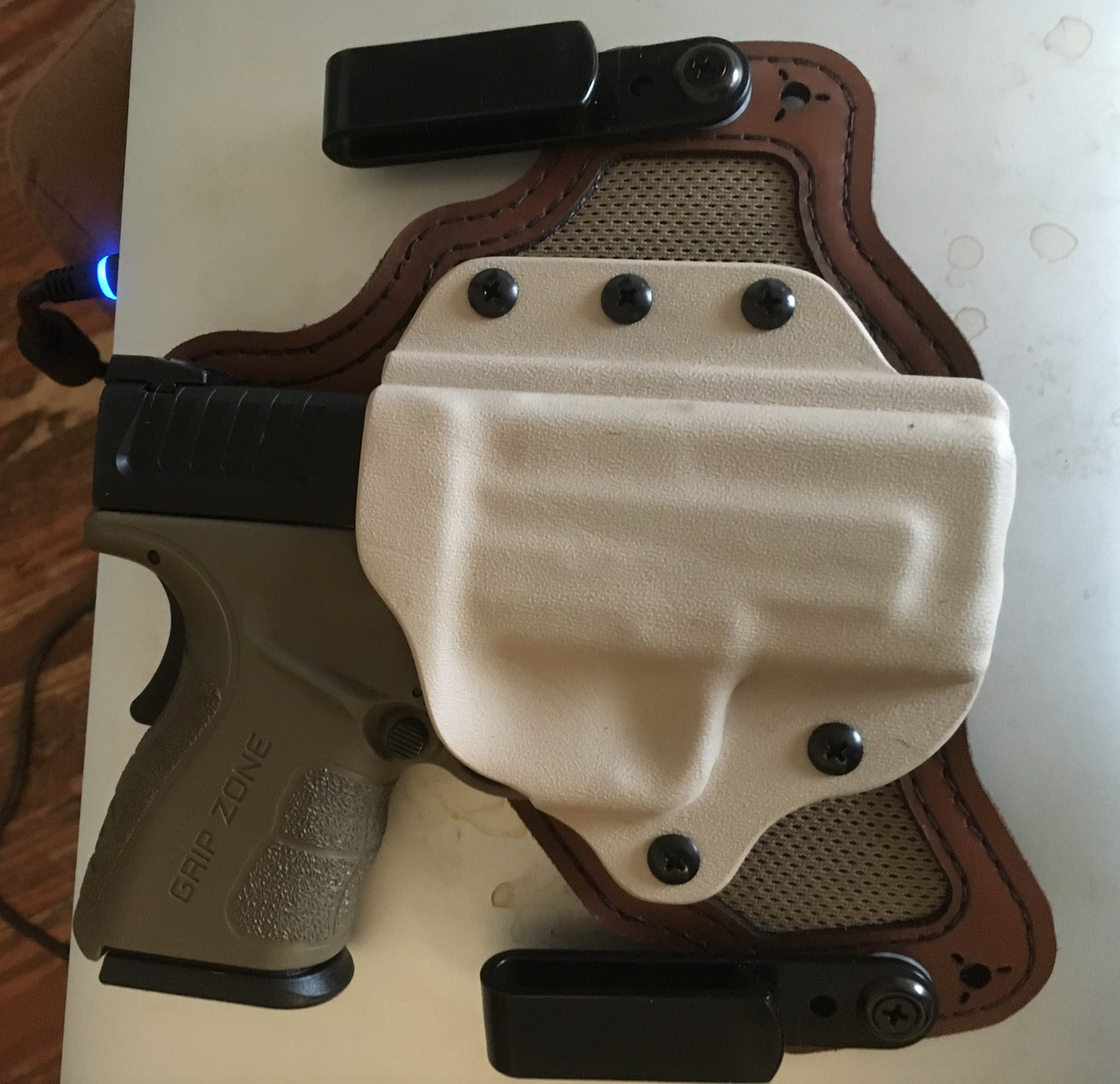 Black Arch Holster for my Springfield XD Mod 2  45 ACP Sub-Compact
