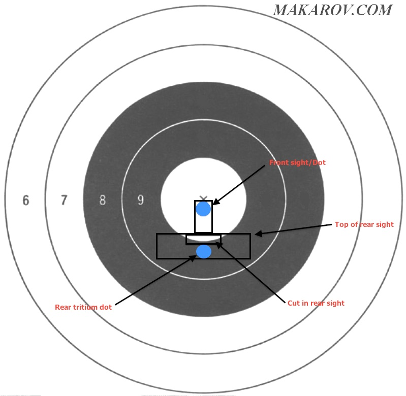 Name:  Taurus sight alignment at 21 feet, wearing 2x reading glasses.jpg Views: 10833 Size:  83.9 KB