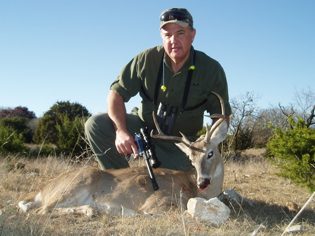 2005 Texas Management Whitetail taken with RPM XL Hunter in .358 Winchester
