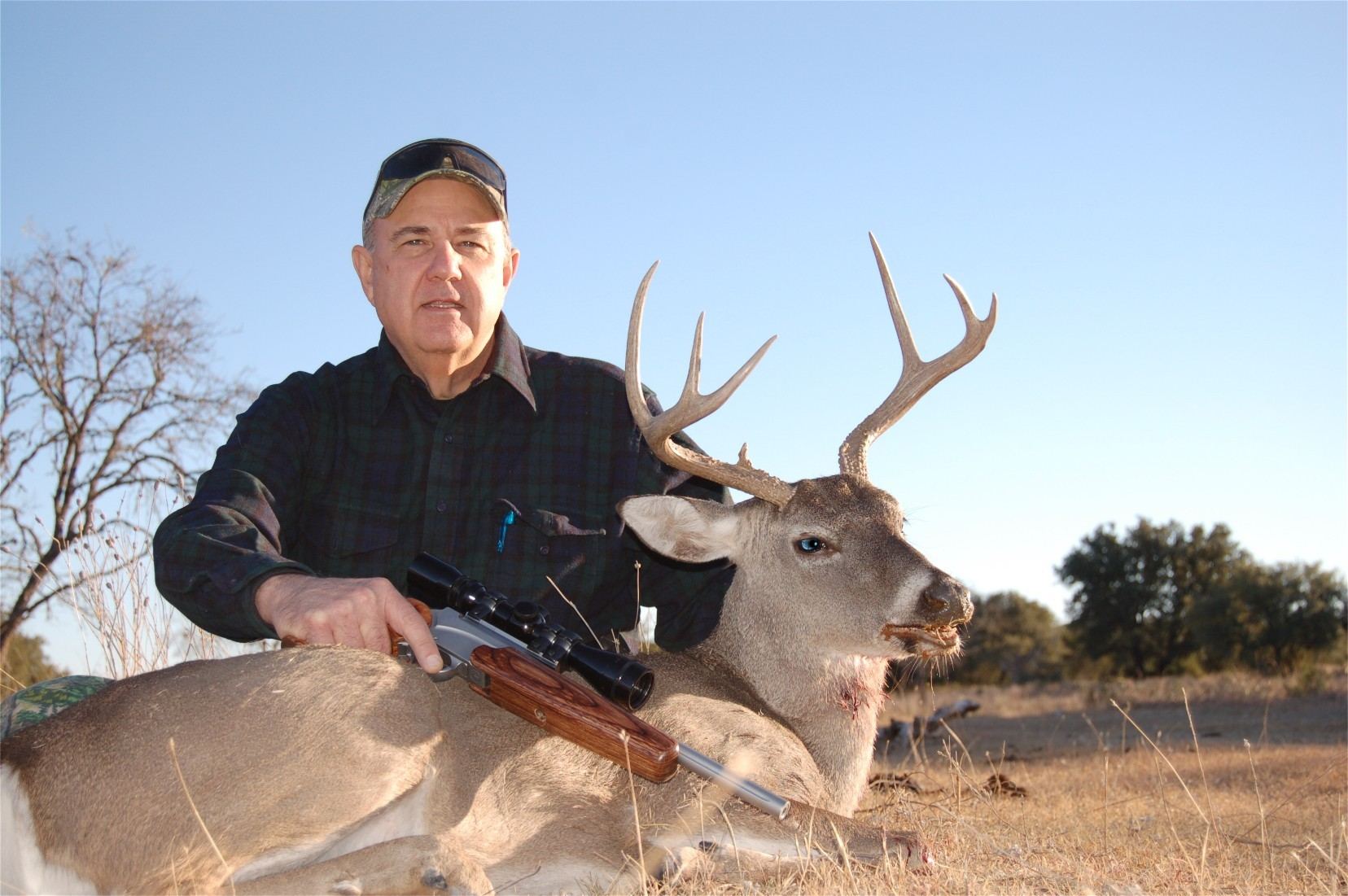 2010 Texas Management Whitetail taken with SSK Custom T/C Encore in 25/06