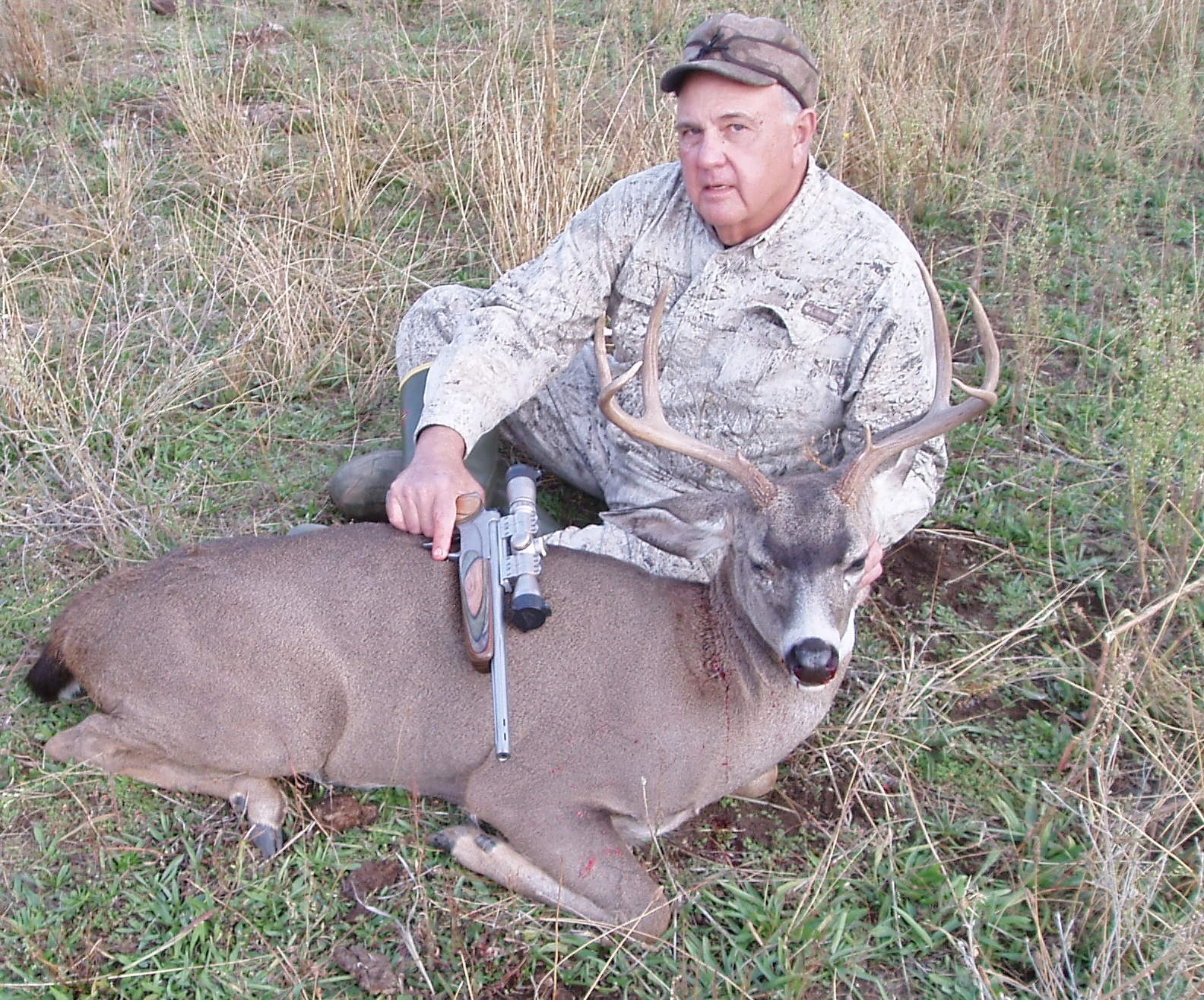 2014 Trinity County Blacktail Taken with T/C Pro Hunter Pistol in 30/06